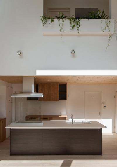キッチン (明石台の家)