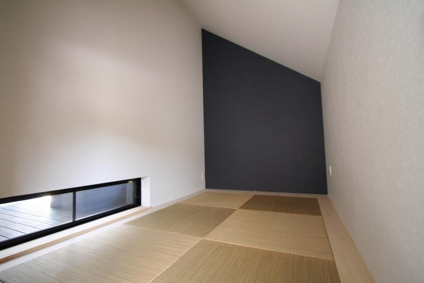 鳥取のミニマルデザインの家 OUCHI-02 (和室)