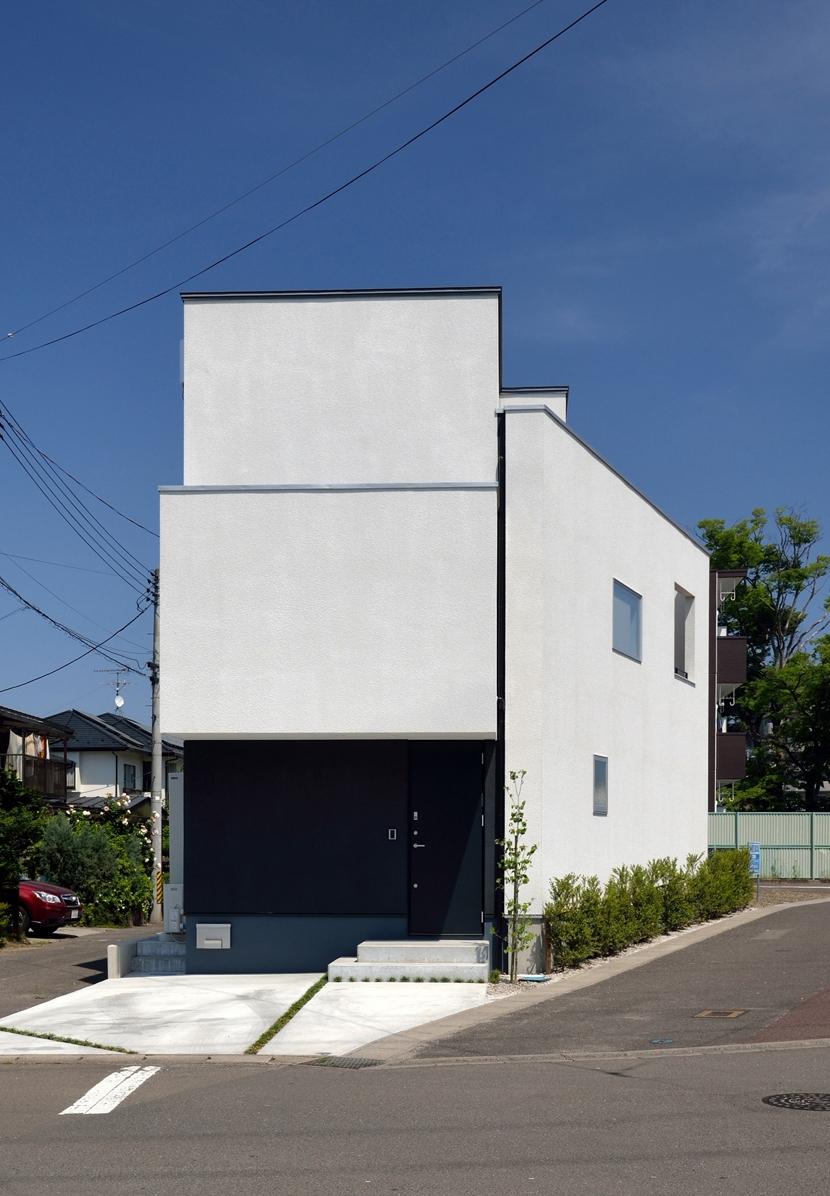 富沢の家の部屋 外観全景