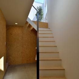 富沢の家 (階段)