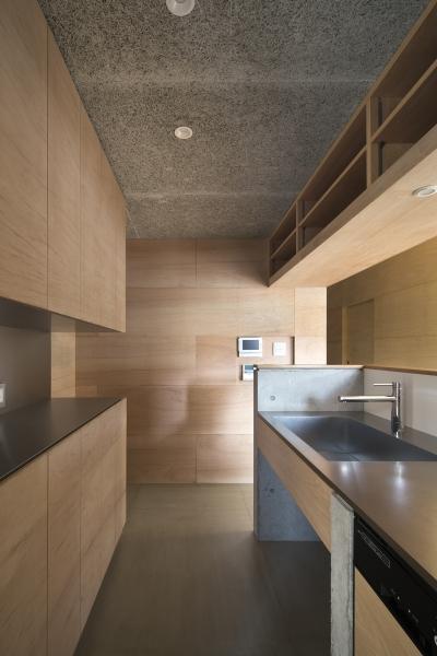 キッチン (上大野の家)