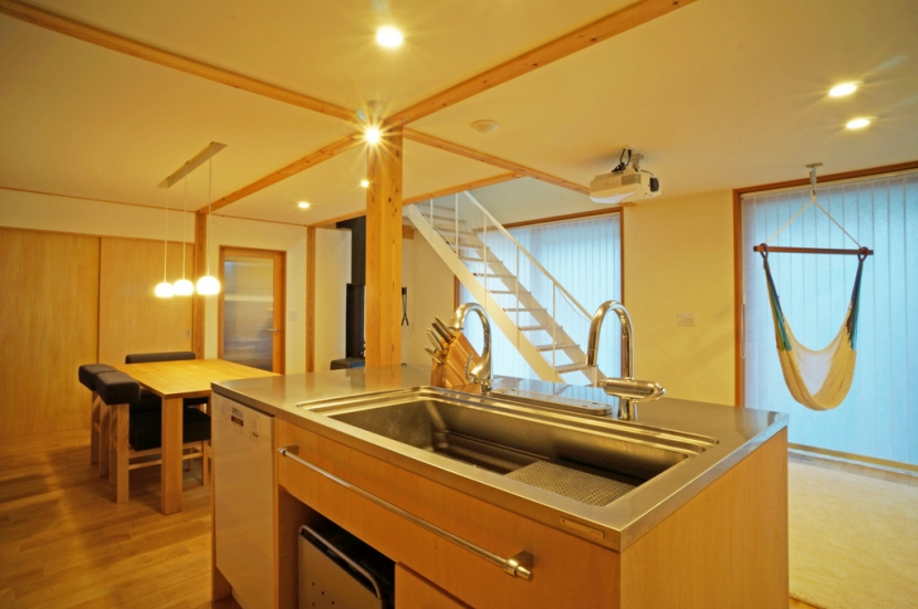 永久町の家の部屋 キッチン