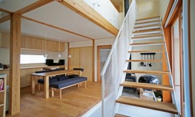 永久町の家 (階段)