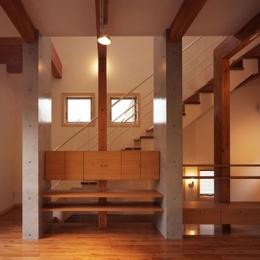 常盤平の家 (リビング01)