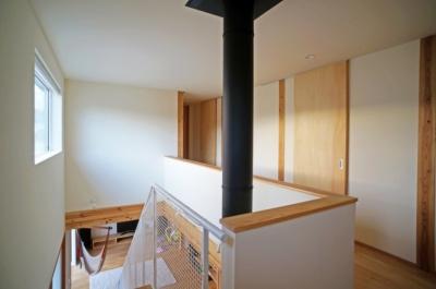 永久町の家 (2階ホール)