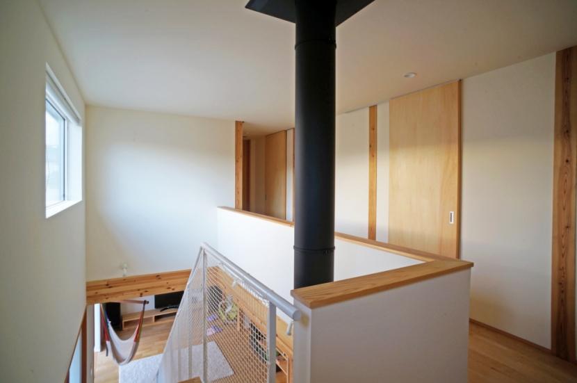 永久町の家の部屋 2階ホール
