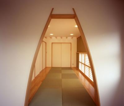常盤平の家 (和室02)