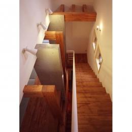 常盤平の家 (階段01)