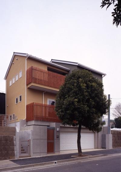 常盤平の家 (外観01)