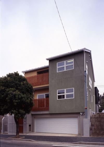 常盤平の家 (外観02)