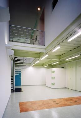 元山の家+事務所 (リビング)