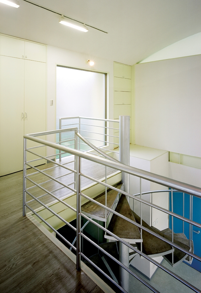 元山の家+事務所の部屋 階段