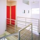 元山の家+事務所の写真 廊下02