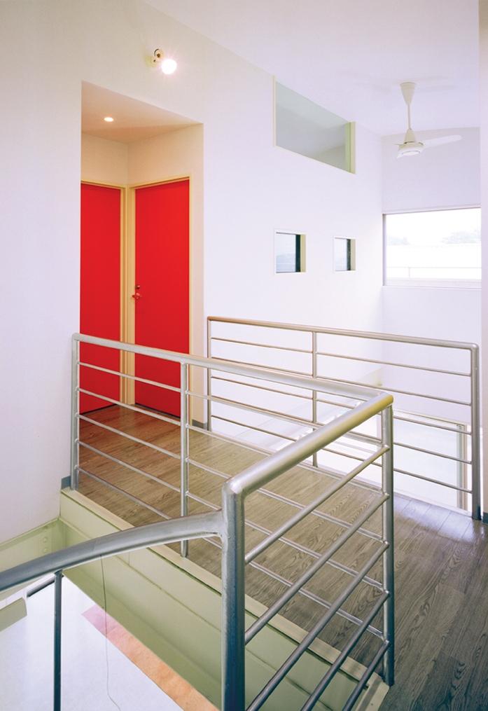 元山の家+事務所 (廊下02)