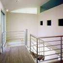 元山の家+事務所の写真 廊下01