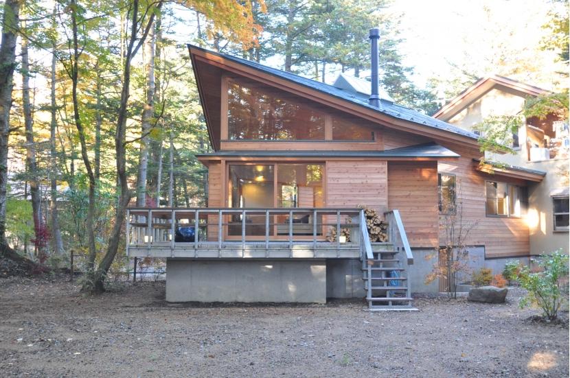 建築家:石原 潔「軽井沢の別荘」