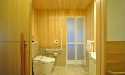 トイレ|軽井沢の別荘