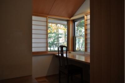 寝室 (軽井沢の別荘)