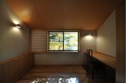 軽井沢の別荘 (寝室)