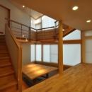 那須の別荘の写真 吹き抜け階段