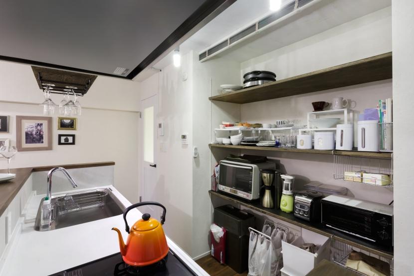 月島Barの部屋 キッチン