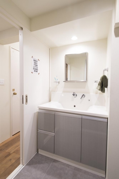 洗面室 (私たちのNEST)