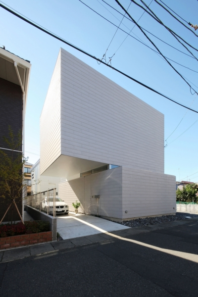 中野島の家 (外観1)