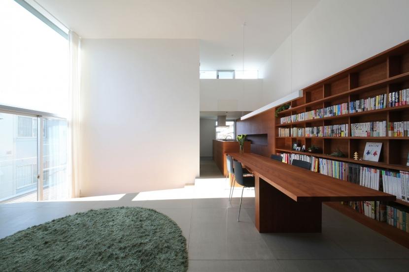 中野島の家 (リビングダイニングキッチン2)