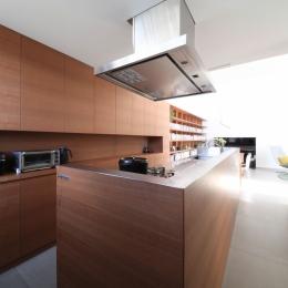 中野島の家 (キッチン)