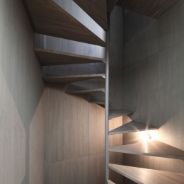 中野島の家 (階段)