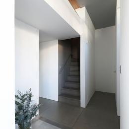 中野島の家 (玄関1)