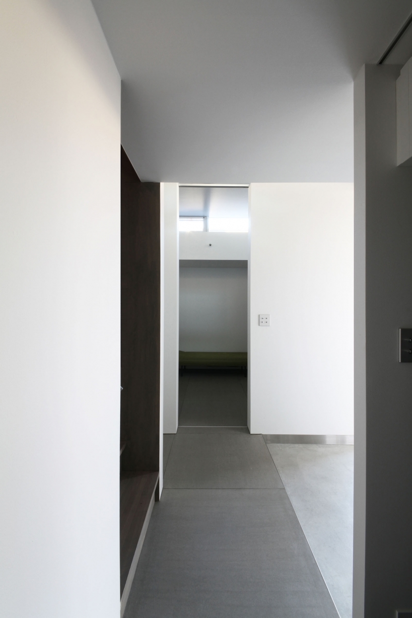 中野島の家 (玄関2)