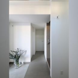 中野島の家 (玄関3)