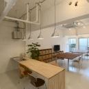 ミーティングスペース と オフィススペース