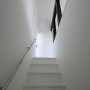 親世帯・寝室への階段