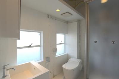 洗面室 (若竹ビル の シェアオフィス | coworking space in 5th Avenue)