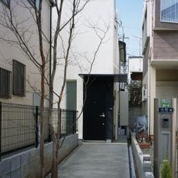 上石神井の家~囲まれた家 (外観)