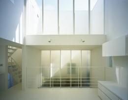 上石神井の家~囲まれた家 (リビング2)