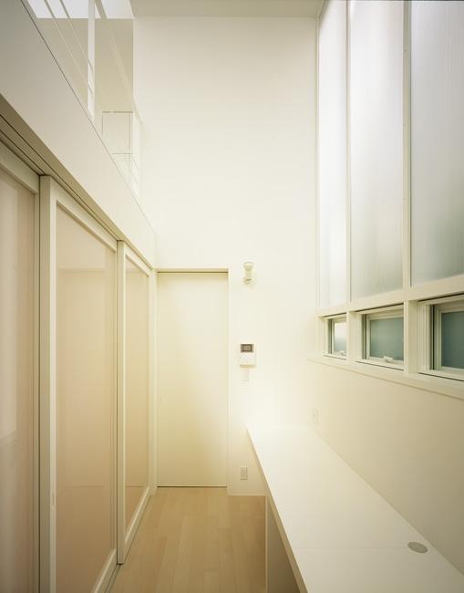 上石神井の家~囲まれた家の部屋 勉強コーナー1