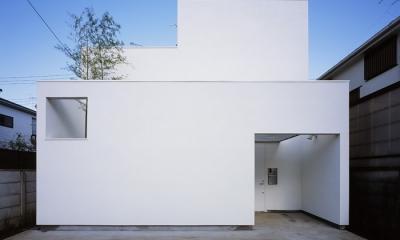 上連雀の家~北側採光のリビング (外観1)