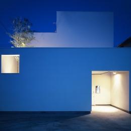上連雀の家~北側採光のリビング (外観2)