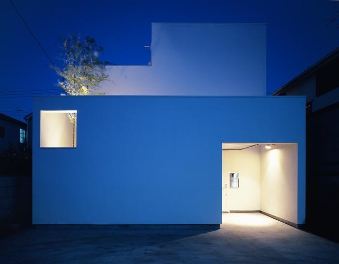 上連雀の家~北側採光のリビングの部屋 外観2