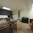 オウチ15・静岡の二世帯住宅の写真 親世帯リビング
