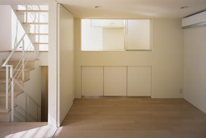 上連雀の家~北側採光のリビングの部屋 子供室