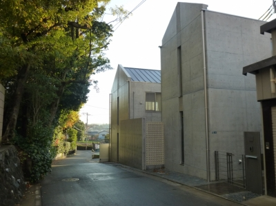 秦野市の住宅 (東側外観)