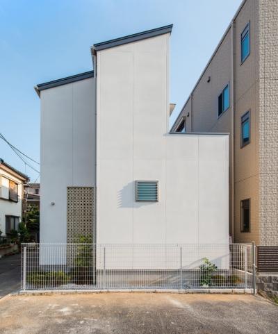 富士見坂の家 (北側外観)