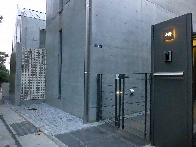 秦野市の住宅の部屋 スチールフラットバーのオリジナル門扉