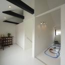 オウチ15・静岡の二世帯住宅の写真 引き戸で仕切る子供室