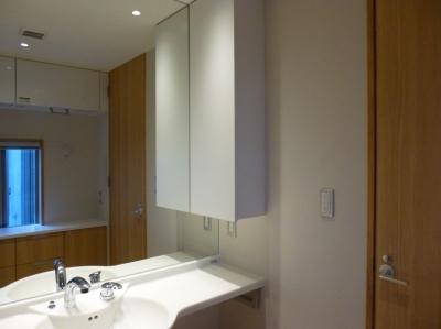 洗面室 (秦野市の住宅)