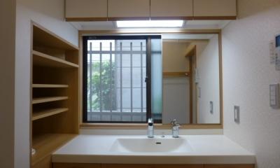 西小山の家 (全てオリジナル(窓の開け閉めの際には鏡をスライド))